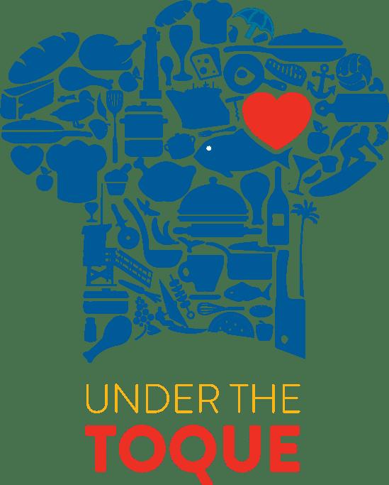 Under the Toque logo