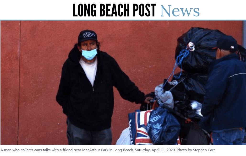 Screenshot of Long Beach Post