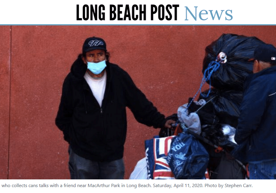 Screenshot of Long Beach Post